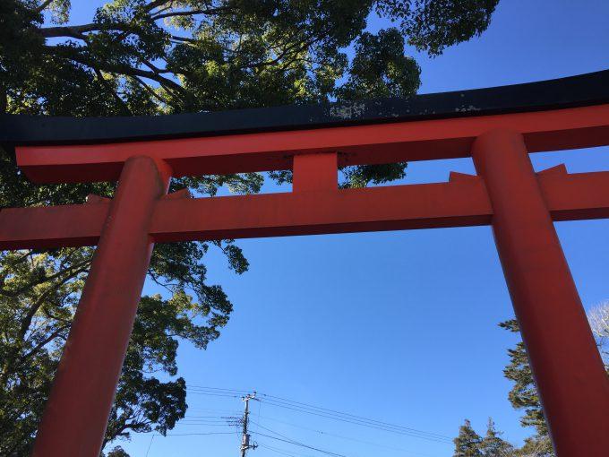 玉前神社の一の鳥居