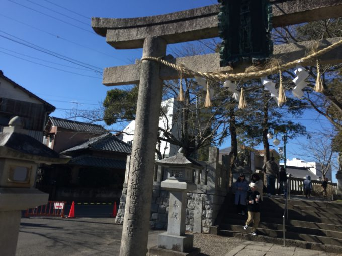 玉前神社の二の鳥居