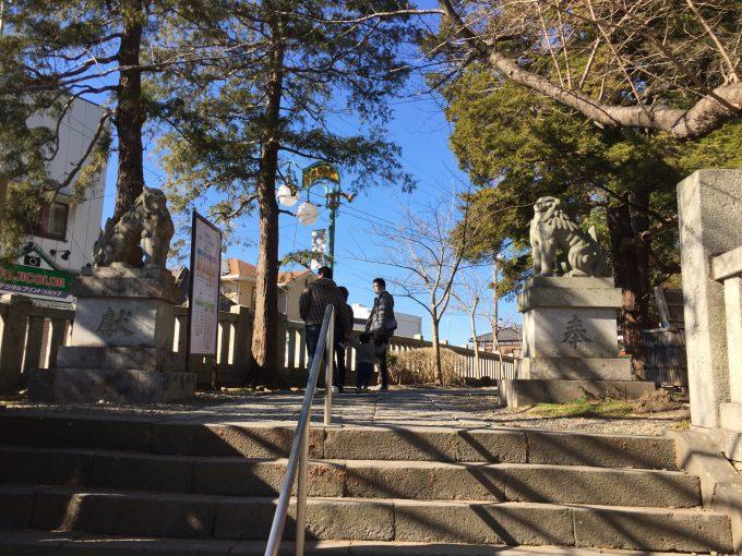 玉前神社の狛犬