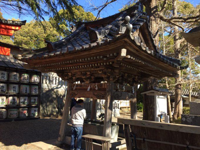 玉前神社の手水舎