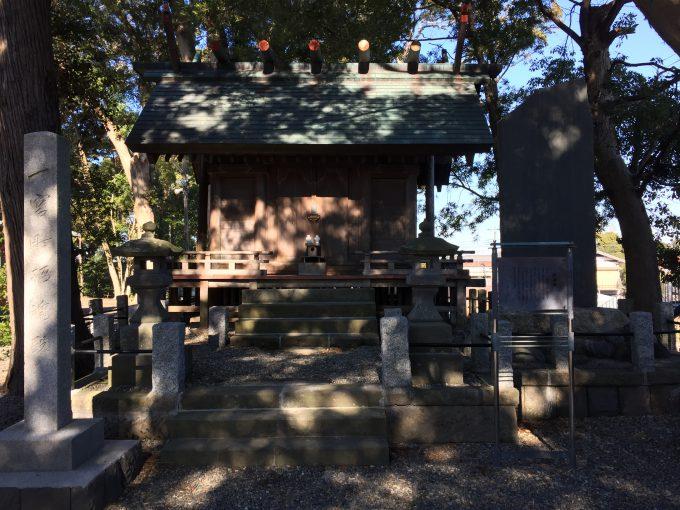 玉前神社の招魂殿