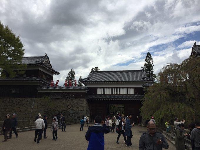南櫓・北櫓・東虎口櫓門