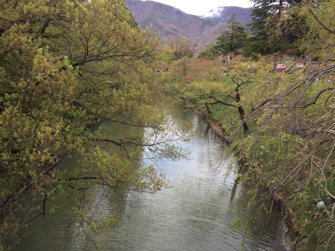 上田城のお堀