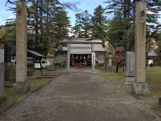 上田城内の招魂社