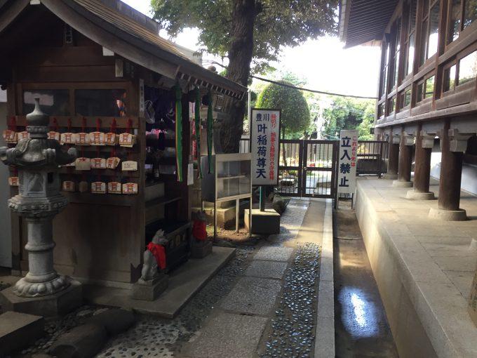 豊川稲荷東京別院の叶稲荷