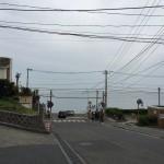 鎌倉高校前駅の踏切を挟んでの海の景色が素晴らしいKanagawa 20150429 104617 150x150