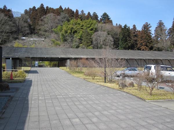那珂川町馬頭広重美術館の正面