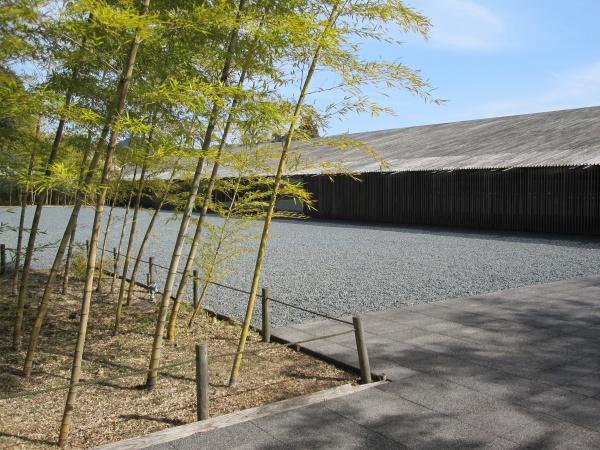 那珂川町馬頭広重美術館の裏手