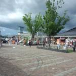 道の駅しもつけ 建物も綺麗でちょっとしたスーパーのようだTochigi 20140720 153913000 150x150