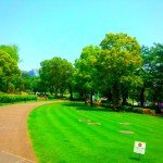 東京ミッドタウンと公園 六本木近くにある憩いの場所