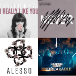 4曲(Alesso & Tina Arena & Carly Rae Jepsen & Carpark North)Carly Rae Jepsen   I Really Like You 150x150