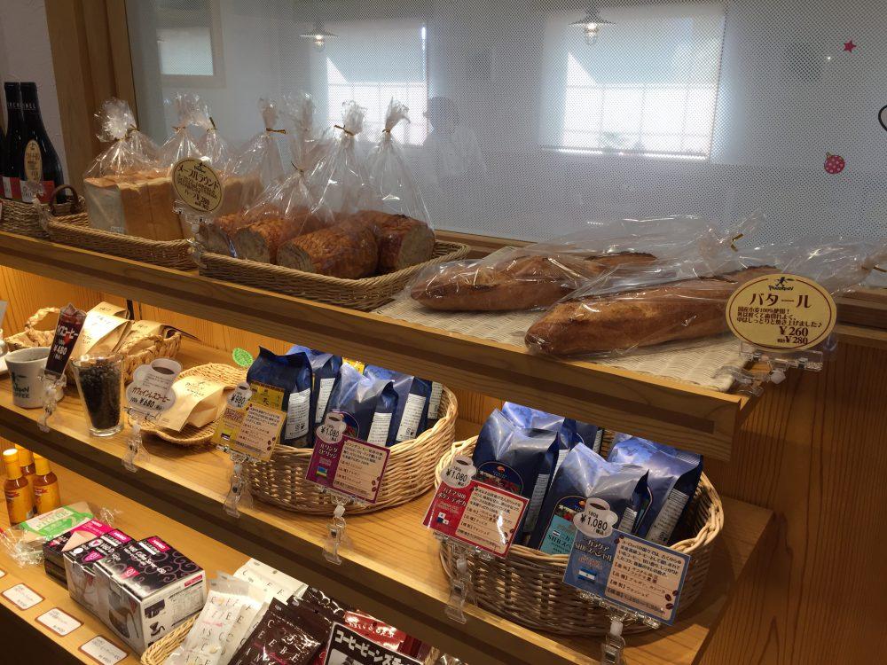 レジ付近のパン