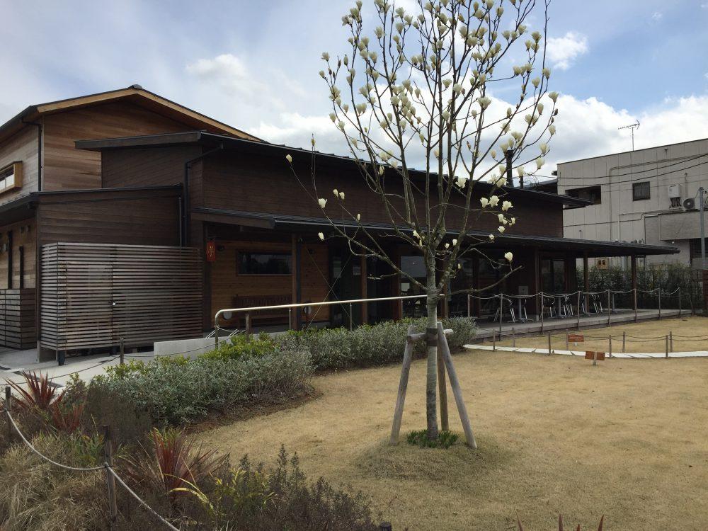 三井製パンCafe&Gardenの外観