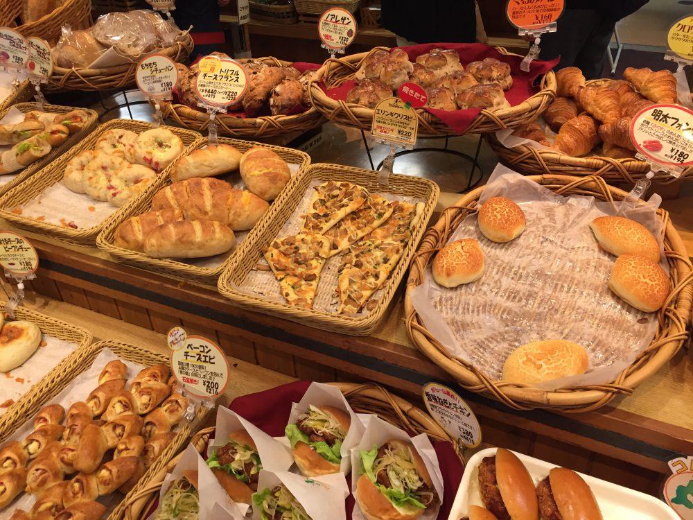 ピーターパン(小麦の丘)のパンの数々